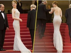 Photos : Cannes 2015 : Emma Stone époustouflante sur le red carpet !