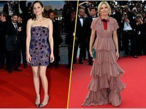 Photos : Cannes 2015 : Marion Cotillard VS Sienna Miller : laquelle règne sur le tapis rouge ?