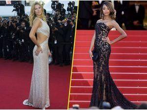 Photos : Cannes 2015 : Toni Garrn et Jourdan Dunn illuminent le red carpet !