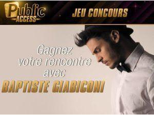 Jeu Concours : gagnez votre rencontre avec Baptiste Giabiconi grâce à Public !