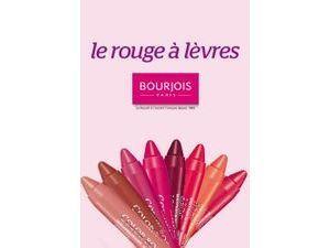 Plus Produit : à vous l'un des 8 rouges à lèvres Bourjois !