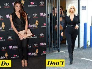 Rachel Trapani face à Kim Kardashian