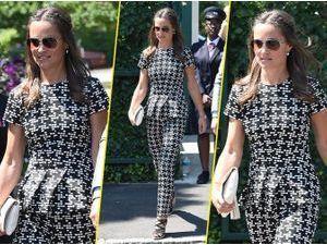 Pippa Middleton : toujours aussi classe, elle fait son effet à Wimbledon !