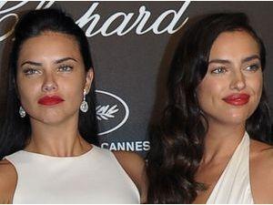 Adriana Lima VS Irina Shayk : laquelle porte le mieux le make-up glam' ?