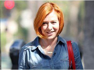 Alyson Hannigan : en mode orange mécanique !