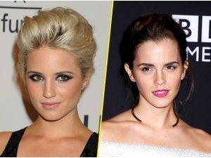 Emma Watson VS Dianna Agron : qui porte le mieux le chignon XXL ?