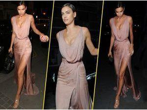 Irina Shayk, nude et glamour pour une sortie théâtre !
