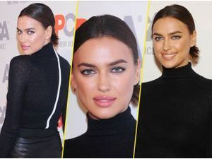 Irina Shayk : un beauty look stricte et chic !