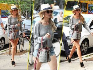 Jennifer Lawrence : une bobo chic dans les rues de New York City