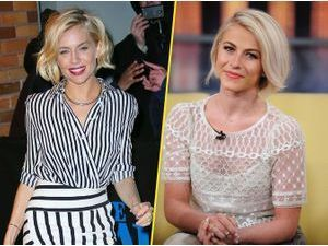Julianne Hough VS Sienna Miller : quelle blonde porte le mieux le carré court ?