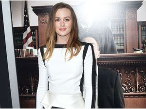 Leighton Meester : on adopte son look monochrome !