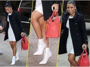 Nicki Minaj : elle se la joue seventies !