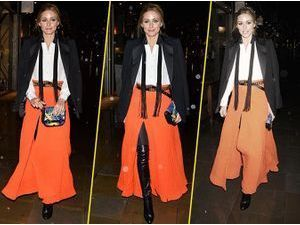 Olivia Palermo : total look bohème-chic !