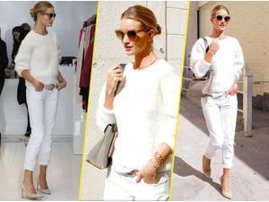 Rosie Huntington-Whiteley : elle déchire en total look blanc !
