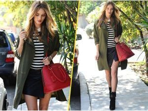 Rosie Huntington-Whiteley : on craque pour son look de mi-saison !