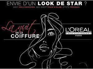 Beauté : la Nuit de la Coiffure, le concours l'Oréal pour se faire coiffer gratuitement par des professionnels !