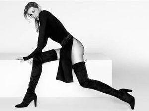 Gisele Bündchen, incroyablement hot pour la nouvelle campagne de Stuart Weitzman