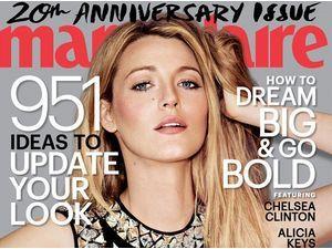 Mode : Blake Lively : en Une de Marie-Claire US elle se livre sur sa relation avec Ryan Reynolds !