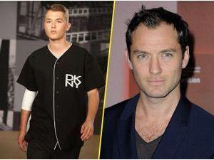 Mode : Jude Law : son fils Rafferty Law défile pour DKNY !