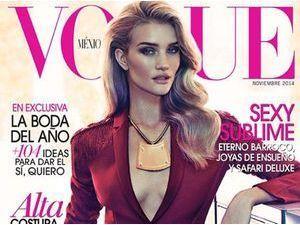 Mode : Rosie Huntington-Whiteley : une ménagère sensuelle pour Vogue !