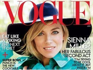 Mode : Sienna Miller : une it girl espiègle pour Vogue !