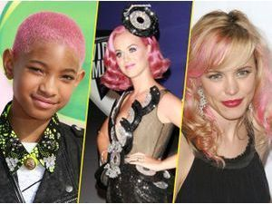 Beauté : Willow Smith, Rachel Mcadams, Katy Perry ... : ces stars qui voient la vie en rose !
