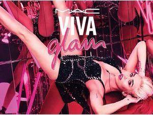 Beauté : Miley Cyrus : nouvelle égérie déjantée pour Viva Glam by MAC !