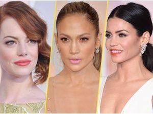 Beauté : Photos : Oscars 2015 :  Emma Stone, Jennifer Lopez, Jenna Dewan-Tatum... Découvrez les meilleurs beauty looks de la cérémonie !