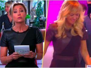 Mode : Anne-Sophie Lapix et Enora Malagré : combat de look entre les deux blondes !