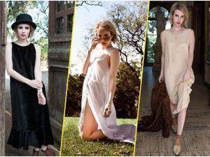 Mode : Emma Roberts : une égérie glamour et stylée pour Elkin !