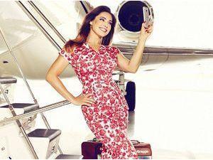 Mode : Kelly Brook : gagnez un voyage et votre selfie sur une valise personnalisée grâce à elle !