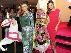 "Mode : Miranda Kerr : pétillante et pleine de grâce pour la promo du parfum ""Escada Joyful"" !"