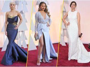 Mode : Photos : Oscars 2015 : Rita Ora, Chrissy Teigen, Marion Cotillard... Retour sur les plus beaux looks du tapis rouge !
