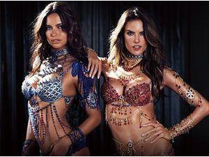Photos : Alessandra Ambrosio et Adriana Lima : ambassadrices de charme pour les Fantasy Bras de Victoria's Secret !