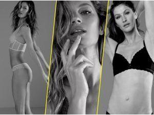 Photos : Gisele Bündchen, hot et sensuelle pour sa collection de lingerie Gisele Bündchen X Intimates !