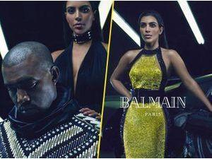 Photos : Kim Kardashian et Kanye West : Balmain frappe fort, nouveau gros coup pour les Kimye !