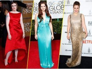 Photos : Lena Dunham, Lana Del Rey, Alyssa Milano... Découvrez les pires looks des Golden Globes !