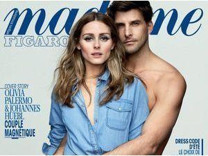 Olivia Palermo et Johannes Huebl : un couple sensuel pour Madame Figaro
