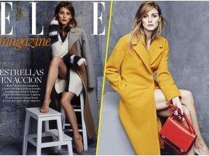 Photos : Olivia Palermo, séductrice pour Elle et working girl dans la dernière campagne Max & Co !