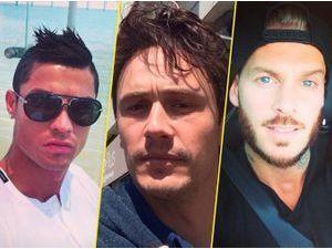 Cristiano Ronaldo, James Franco, M. Pokora…: eux aussi sont accros au selfie !