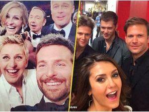 Ellen Degeneres, le Pape François, Nina Dobrev…: le selfie groupé ? ils adorent !