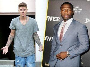 """50 Cent : """"Je ne pense pas que Justin Bieber soit raciste !"""""""