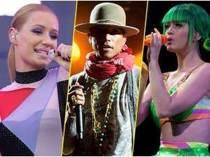 American Music Awards 2014 : Iggy Azalea, Pharrell Williams, Katy Perry... Découvrez tous les nommés !