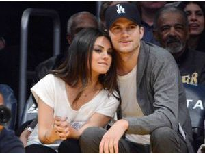 Ashton Kutcher et Mila Kunis : leur petite Wyatt a déjà son nom réservé sur Twitter et Instagram !
