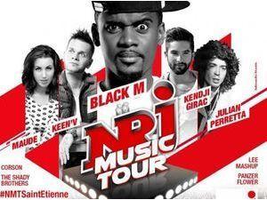 Black M, Kendji, Keen V, Maude, The Shady Brothers... Tous réunis sur la scène du NRJ MUSIC TOUR à Saint-Etienne !