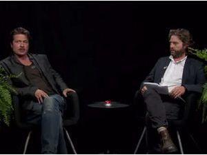 Brad Pitt : vie privée, physique, carrière...Zach Galifianakis lui offre la pire interview de sa vie ! Regardez !