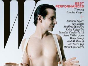 Bradley Cooper : nu pour W Magazine !