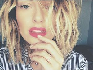 Caroline Receveur : 2015 démarre mal, la jolie blonde hospitalisée !