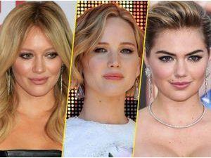 Hilary Duff, Jennifer Lawrence et Kate Upton ©DR