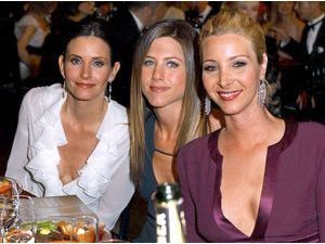 Courteney Cox, Jennifer Aniston et Lisa Kudrow ©ABACA